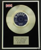 "SMALL FACES  -  7"" Platinum Disc - ALL OR NOTHING"